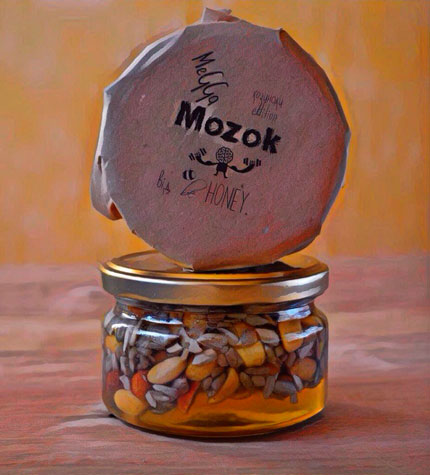 MegaMozok насіння з арахісом «Козинаки edition»