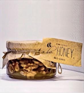 Натуральные сладости: Грецкий Орех в Меду, органический энергетик
