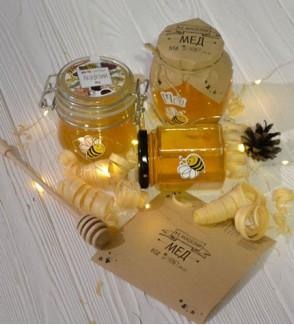 Мед з власної пасіки «be Honey» «Акація»