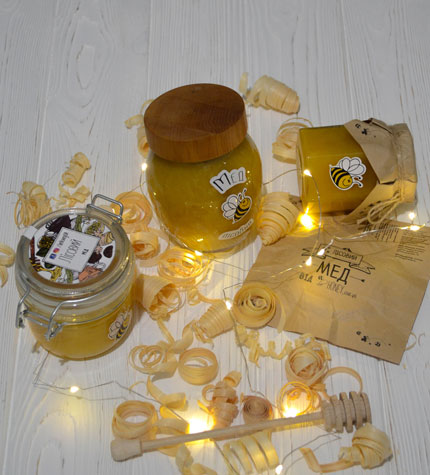 Honey from own «be Honey» apiary «Forest honey»