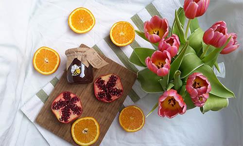 Органічна їжа і продукти еко, мед