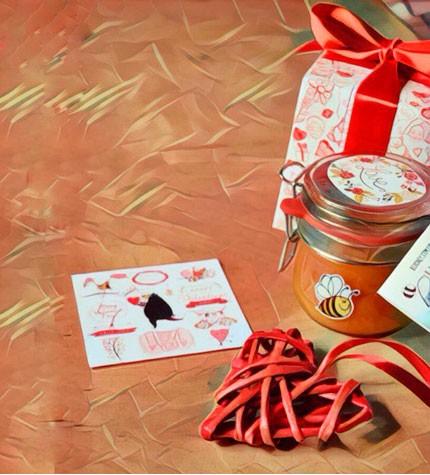 """Подарунок на День Валентина: """"Баночка солодкого щастя"""""""